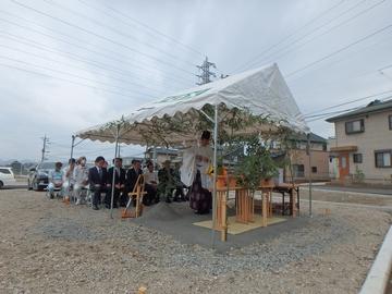 「地鎮祭」を行いました。【長泉町下長窪】